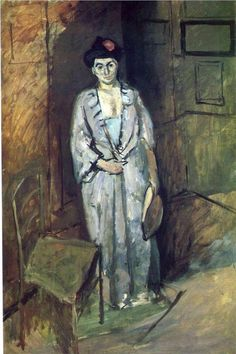 The Japanese Lady, 1901, oil on canvas, 116.8 x 80 cm, Private Collection, Post-Impressionism, Henri Matisse (1869 - 1954).