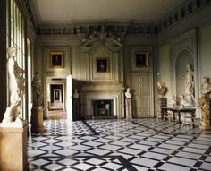 The Marble Hall at Petworth, probably built to a design by Daniel Marot. ©National Trust Images/Andreas von Einsiedel nttreasurehunt.wordpress.com