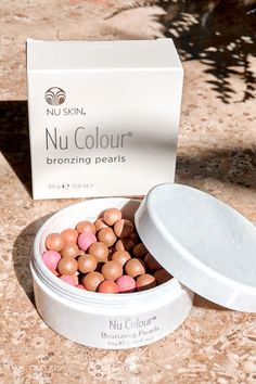Bronzing Pearls, Nu Skin, Broad Spectrum Sunscreen, Makeup Tips For Beginners, Tinted Moisturizer, Color Correction, Makeup Junkie, Beauty Care, Sun Kissed