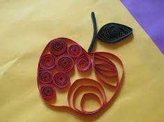 quilled apple - Google Search
