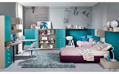 For teens: Di Liddo&Perego About Senior Atlantis, Corner Desk, Toddler Bed, Kids Room, Terra, Furniture, Home Decor, Corner Table, Child Bed