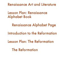 EXCELLENT TEACHING ACTIVITIES The Middle Ages | The Renaissance and the Reformation