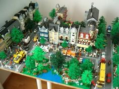 LEGO The Second Town - 2009 5x8 baseplates