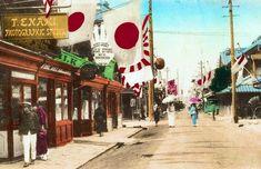 横浜弁天通 1900~1905年頃(日清戦争・日露戦争の頃) Yokohama