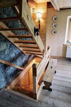 rustic stairway hermannwood1976