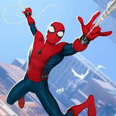 I'm definitely on a Spiderman Kick at the moment as you might have noticed... Spider-Man Homecoming By David Nakayama