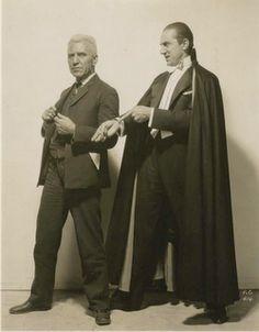Edward Van Sloan and Bela Lugosi - Dracula (1931)
