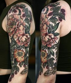 Finished this on Makenzie today, thank you so much! A few other angles forthcomi… Finished this on Makenzie today, thank you so much! A few other angles forthcoming Backpiece Tattoo, 16 Tattoo, Tattoo Henna, Fall Tattoo, Tattoo Skin, Natur Tattoo Arm, Natur Tattoos, Pretty Tattoos, Beautiful Tattoos