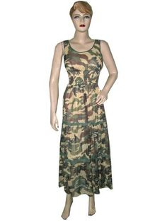 Boho Dresses, Army Print Green Long Maxi Dress, Hippie Casual Dress for Sale Mogul Interior, http://www.amazon.com/gp/product/B0090CJNP2/ref=cm_sw_r_pi_alp_EYbEqb1QXATFT