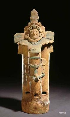 Maya pipe flute. Ancient Maya (Jaina, Mexico), n.d. Clay