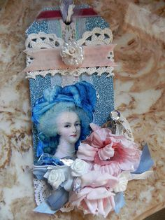 "Altered Tag ""Marie"""