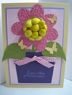 Sweet Centers - Stampin Up   give me a call and I will let you know about these
