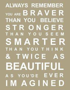 brave strong smart beautiful