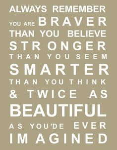 Always remember you are braver than you believe, stronger than you think, and twice as beautiful as you'd ever imagined.. #hawaiirehab www.hawaiiislandrecovery.com