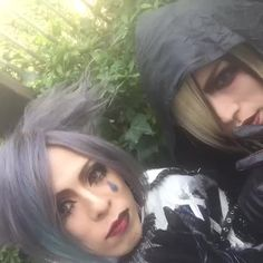 Aki (Arlequin) and Yo-ka (Diaura) Vine :)