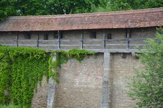 Rothenburg Ob Der Tauber, Arch, Castle, Germany, Outdoor Structures, Explore, Garden, Longbow, Garten