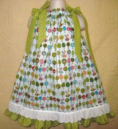 another pillowcase dress.  I like that this one is fuller.