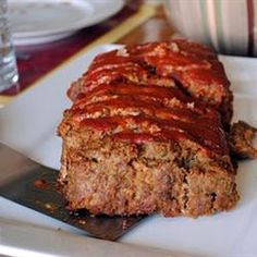 Best Vegetarian Meatloaf (And It's Easy)! • I've been making this recipe for many years now and it's by far the best veggie meatloaf out there. It's simple to make and full of hearty flavor.  Oh, and best of all, only 250 calories per serving! Fat 5g; Protein 15g