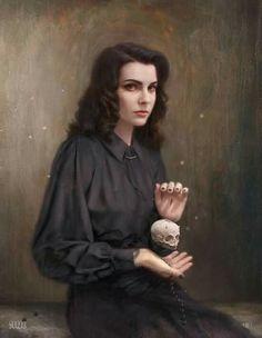 Tom Bagshaw portrait art #portraits #art