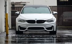 Alpine White BMW F80 M3 With Cosmetic Upgrades - http://www.bmwblog.com/2014/12/09/alpine-white-bmw-f80-m3-cosmetic-upgrades/