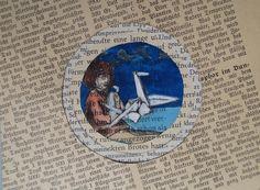 Bookart: Papierkranich von Dorle Koch: theodora auf DaWanda.com