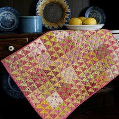 NEW! Pink Lemonade Petite Quilt