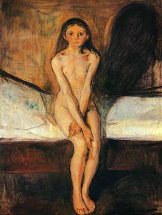 Edvard Munch, Puberty (1894)