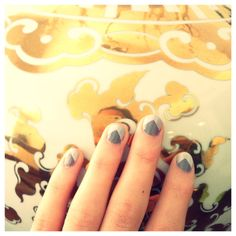 #DIY nail art!