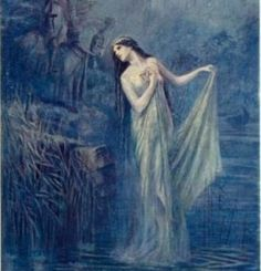 """The Lady of the Lake"" by Lancelot Speed"