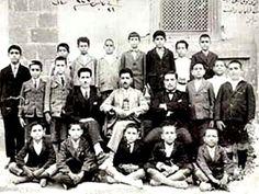 1924 öncesi Sıbyan Mektebi hocaları ve talebeleri
