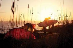 Camp then a dawny