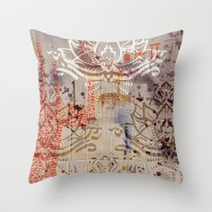 Lotuz Package Throw Pillow by ChiTreeSign - $20.00