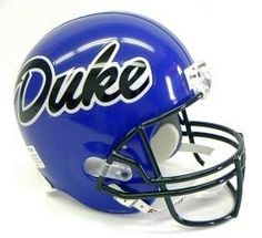 One of the best duke football helmets ever made