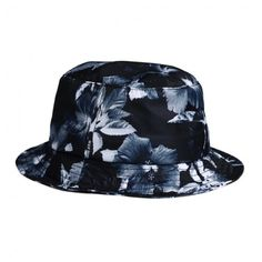 Huf Floral bucket hat Black Manchester (€47) ❤ liked on Polyvore featuring  accessories a9a82e5e124e