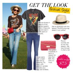 """""""Get The Look: Festival Outfit Under $75"""" by polyvore-editorial ❤ liked on Polyvore featuring Dorothy Perkins, Bioworld and festivalstyle"""