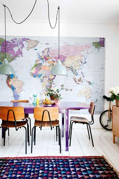13 Chic & Modern Ways to Decorate with Color   @stylecaster