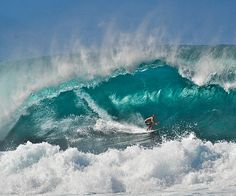 Surfing the big one