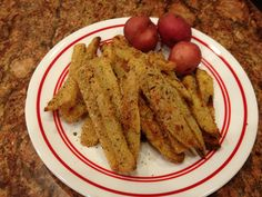 Parmesan Potatoes with Thyme - #potatoes #parmesan cheese #vegetable #side dish