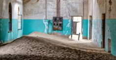A photographer's dream desert location, Kolmanskop, Namibia. #namibia #photography