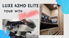 Check out the walkthrough of this Luxe 42MD Elite Luxury Fifth Wheel with our Fantastic Factory Representative Kristen Luxury Fifth Wheel, 5th Wheels, Check, Art, Art Background, Kunst, Performing Arts, Art Education Resources, Artworks
