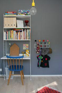 Hunajaista: Lastenhuone. Leuke stoel