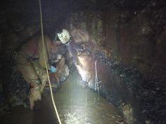 Nell-Abisso di Rupingrande dove è stato trovato il fiume nell-ultima scoperta in ordine di tempo