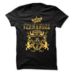 [Top tshirt name printing] FERNANDEZ Family Strong Proud Discount 5% Hoodies, Funny Tee Shirts