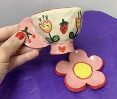 Diy Clay, Clay Crafts, Diy And Crafts, Arts And Crafts, Ceramic Clay, Ceramic Pottery, Pottery Art, Clay Art Projects, Cute Clay