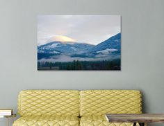 Discover «Cloud Cap on Comstock MT», Limited Edition Canvas Print by Troy Stapek - From $59 - Curioos