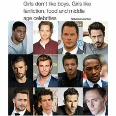 AMEN TO THAT except you forgot tom holland which is unacceptable