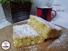 túrós almás pillesüti Hungarian Desserts, Hungarian Recipes, Healthy Cookies, Healthy Desserts, Cookie Desserts, Dessert Recipes, Czech Recipes, Sweet Cakes, Cake Cookies