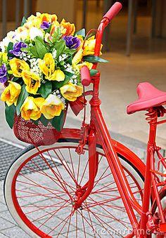 Decorated bicycle by Cebas1, via Dreamstime