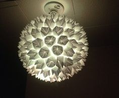 Simple Elegant Paper Lantern/Lamp [DIY on Instructables by mulrich125]