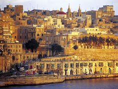 Valletta, Malta- I have family who lives in Malta still and it is one of my favourite places to visit. You've never seen a sunset like one over the cities in Malta Places Around The World, The Places Youll Go, Places To See, Around The Worlds, Malta Island, Beautiful Islands, Beautiful Places, Malta Holiday, Malta Gozo